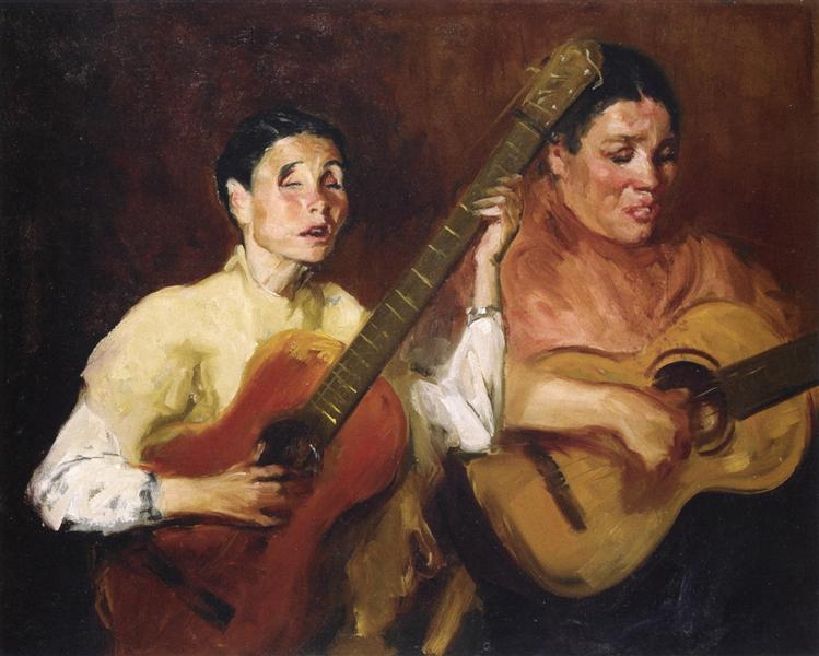 Blind Singers, 1912 - Robert Henri