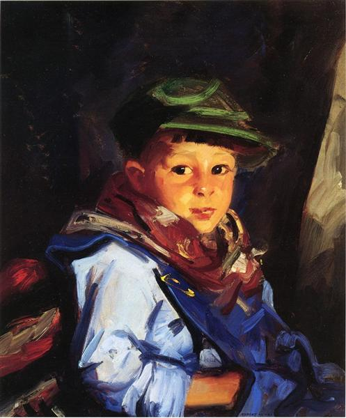 Boy with a Green Cap (also known as Chico), 1922 - Robert Henri
