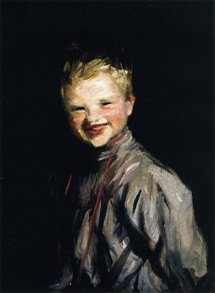Cori Laughing, 1907 - Robert Henri