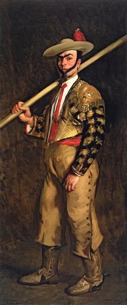 El Picador (Antonio Baños Calero), 1908 - Robert Henri