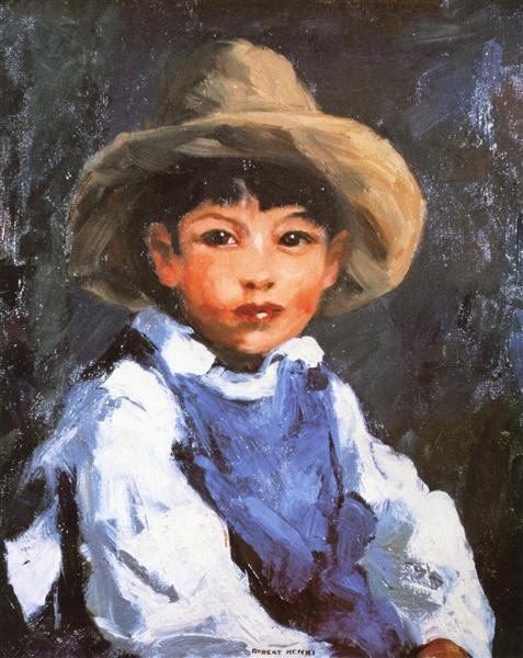 Juan (also known as Jose No. 2, Mexican Boy), 1916 - Robert Henri