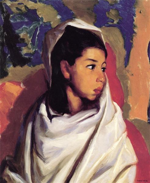 Maria, (Lucinda), 1917 - Robert Henri