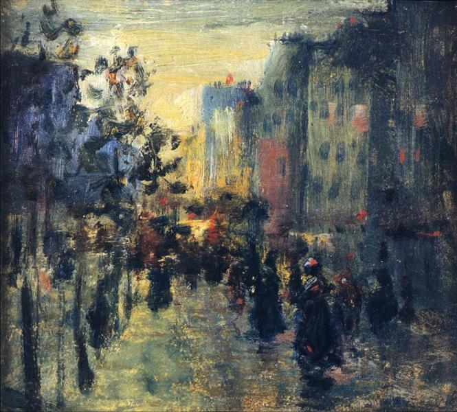 Misty Effect, Paris - Robert Henri