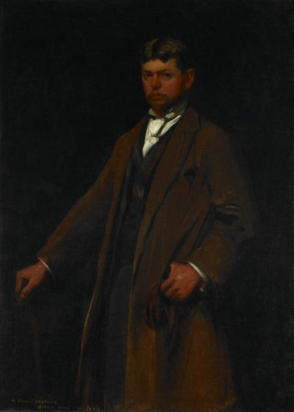 Portrait of Carl Gustav Waldeck, 1896 - Robert Henri