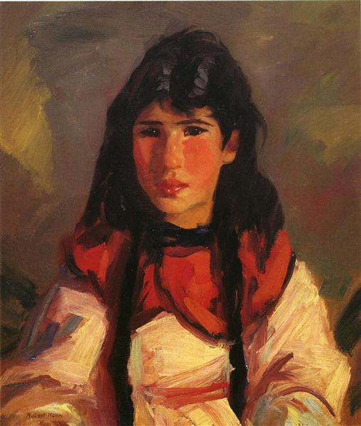 Portrait of Tillie - Robert Henri