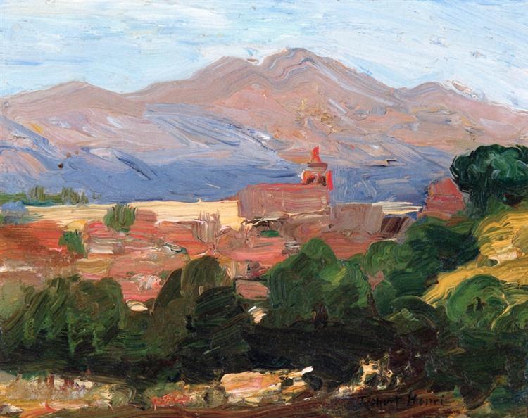 Segovia, Spain, 1906 - Роберт Генри