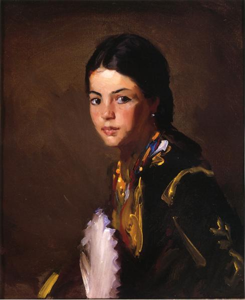 Segovian Girl, 1912 - Robert Henri
