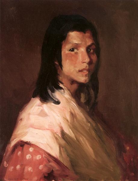 Spanish Gypsy, 1912 - Robert Henri