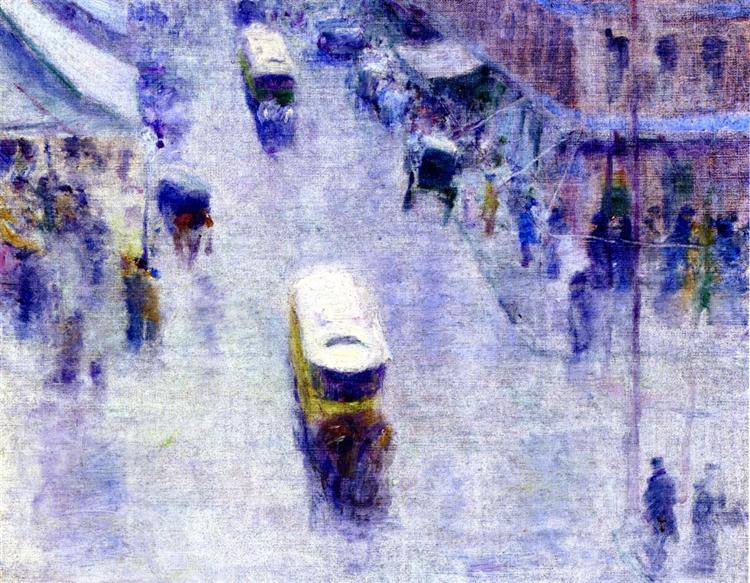 Street Corner, 1895 - Robert Henri