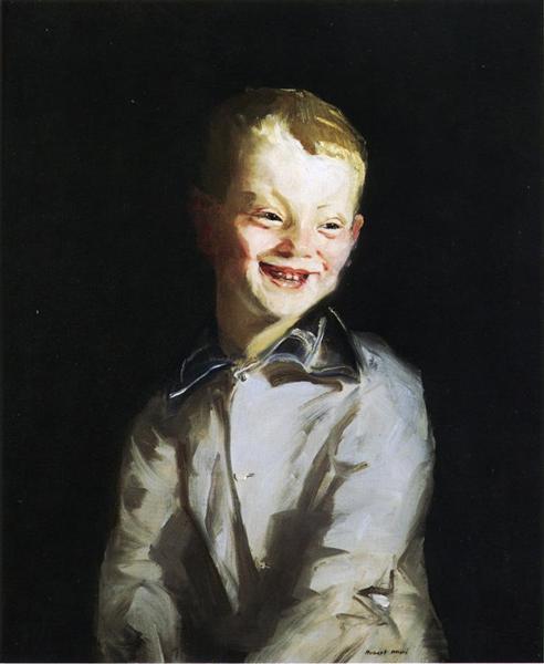 The Laughing Boy (Jobie), 1910 - Robert Henri