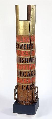 Bob's Column, 1964 - Robert Indiana