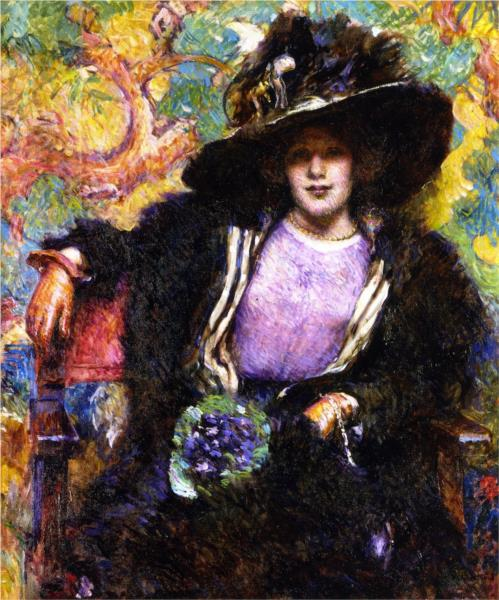The Furs, 1911 - Robert Lewis Reid