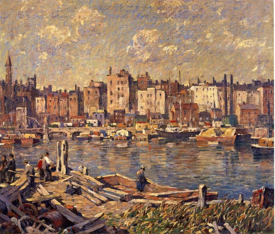 Harlem River, 1924
