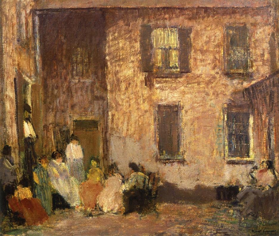 Hour of Dusk, 1917