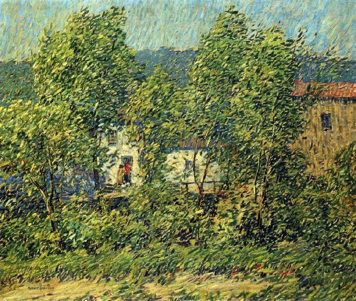 May Breezes, 1914 - Robert Spencer