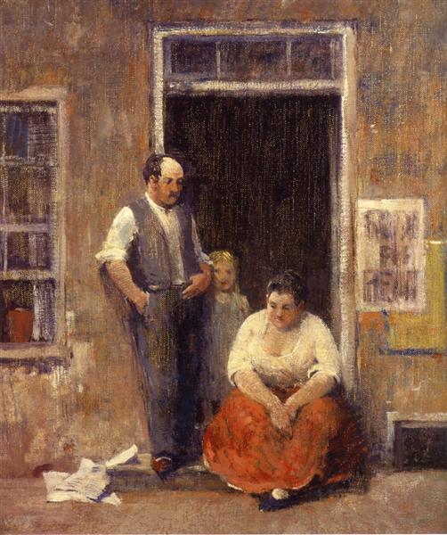 On the Quai, 1929 - Robert Spencer