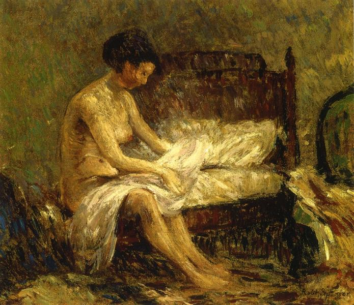 Seated Nude, 1931 - Robert Spencer