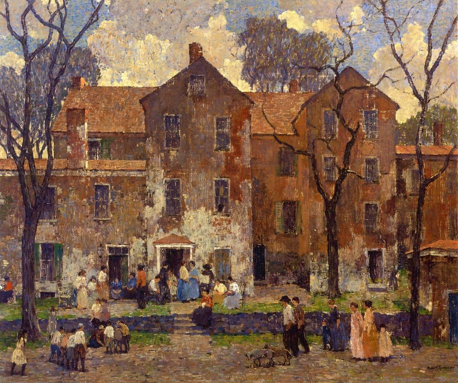 The Barracks, 1919