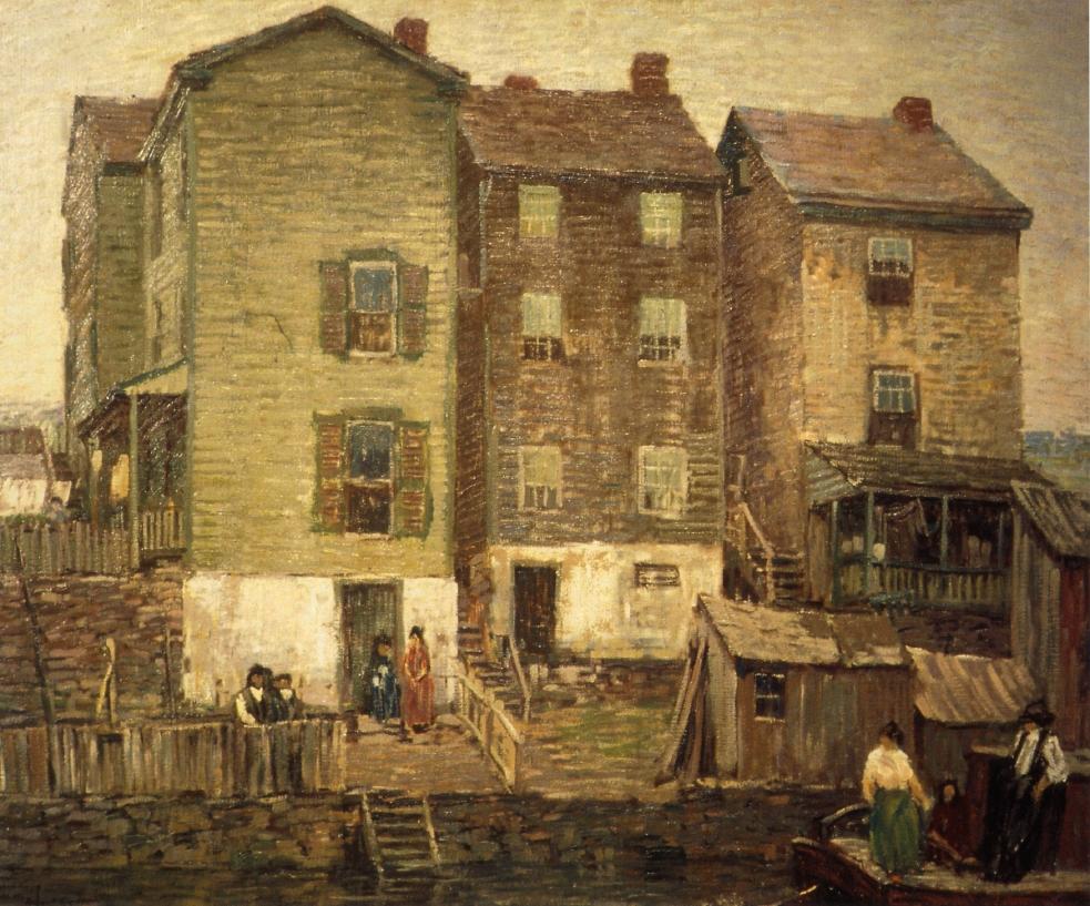 Three Houses, 1911