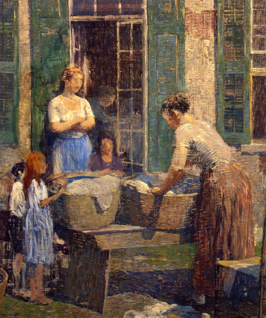 Washer Woman, 1919