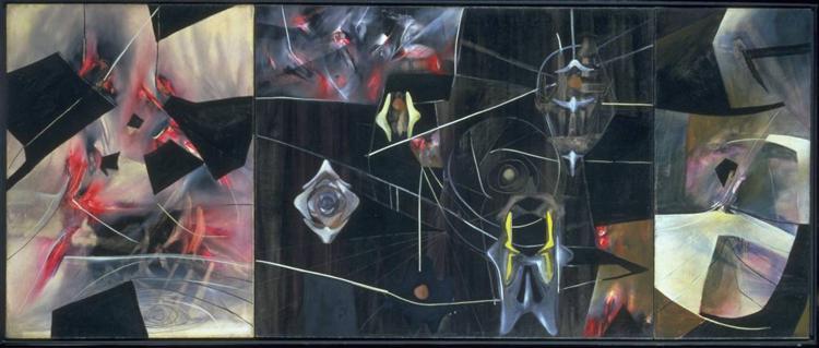 Black Virtue, 1943 - Roberto Matta