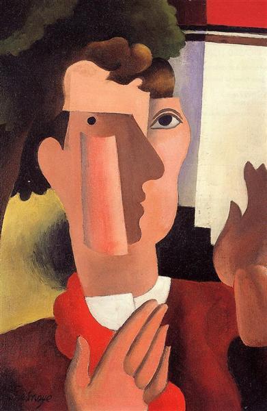 Man with a Red Kerchief, 1922 - Roger de La Fresnaye