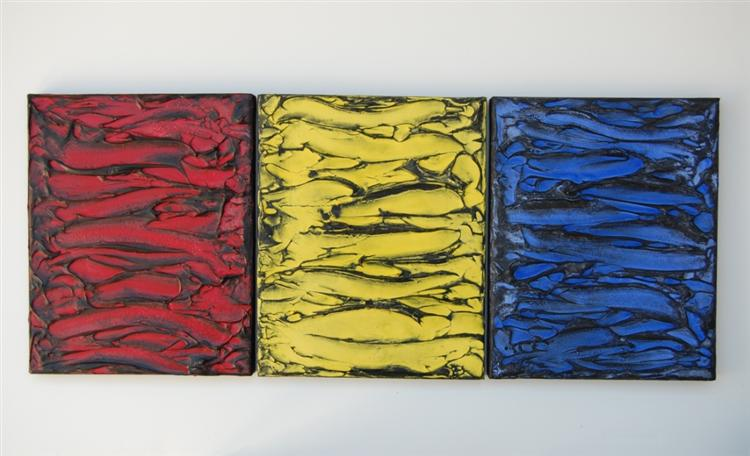 Red, Yellow, Blue, 2009 - Roger Weik