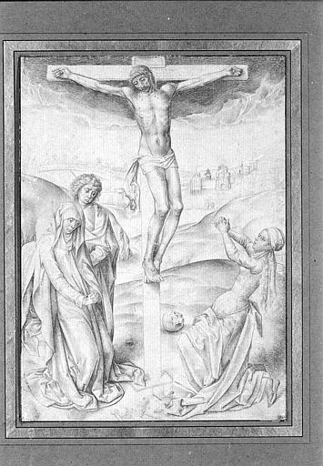 Christ on the cross - Rogier van der Weyden
