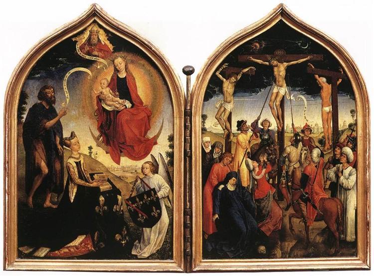 Diptych of Jeanne of France - Rogier van der Weyden