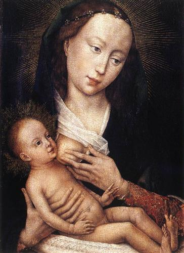 Madonna and Child - Rogier van der Weyden