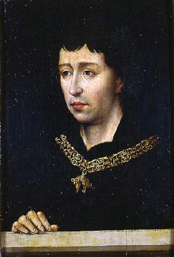 Portrait of Charles the Bold - Rogier van der Weyden