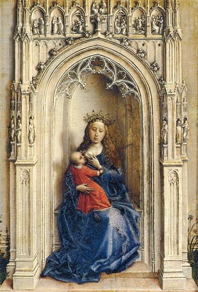 Virgin and Child, 1432 - Rogier van der Weyden