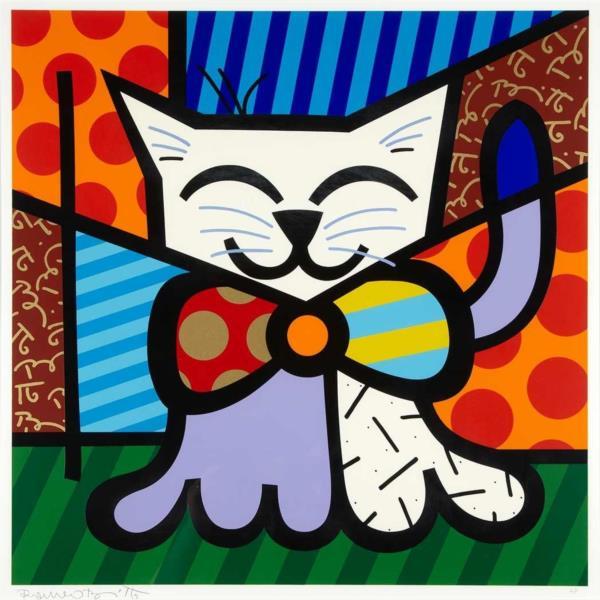 L.A. CAT 1995 - Romero Britto