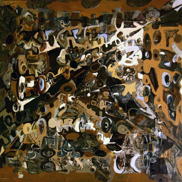 Modular Composition III, 1966 - Romul Nutiu