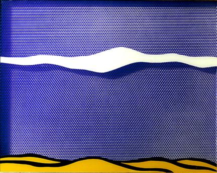 Arctic landscape, 1964 - Roy Lichtenstein
