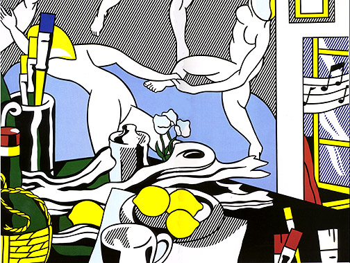 Artist's studio - The dance, 1974 - Roy Lichtenstein