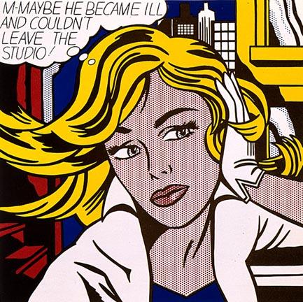 M-Maybe, 1965 - Roy Lichtenstein