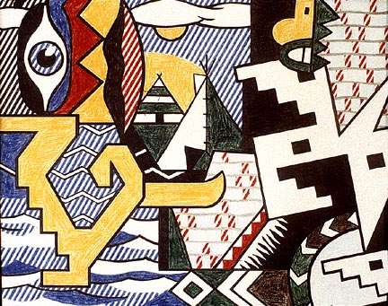 Pow Wow, 1979 - Roy Lichtenstein