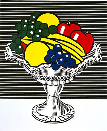 Still life with crystal bowl, 1973 - Roy Lichtenstein