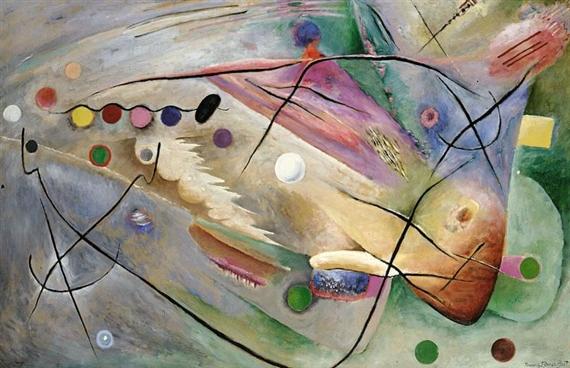 Lines, 1922 - Rudolf Bauer