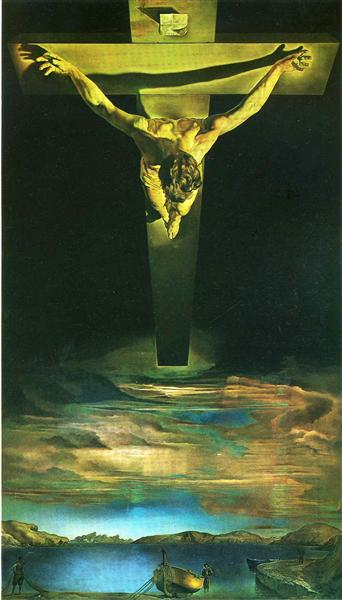 Christ of St. John of the Cross - Dali Salvador