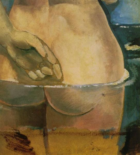 Nude in the Water - Salvador Dali