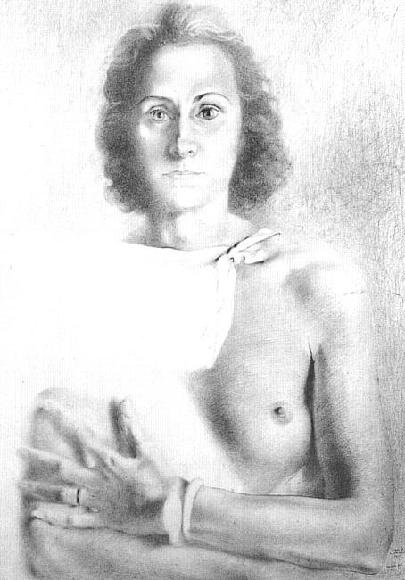 Portrait of Gala, 1941