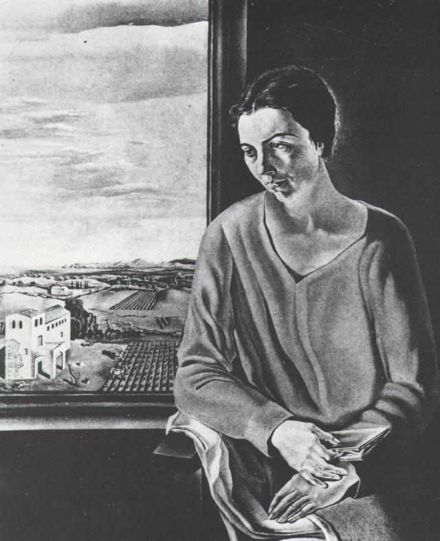 Portrait of Sefiora Abadal De'Argemi, 1926