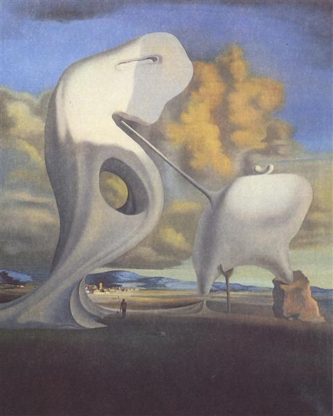 The Architectonic Angelus of Millet, 1933 - Salvador Dali