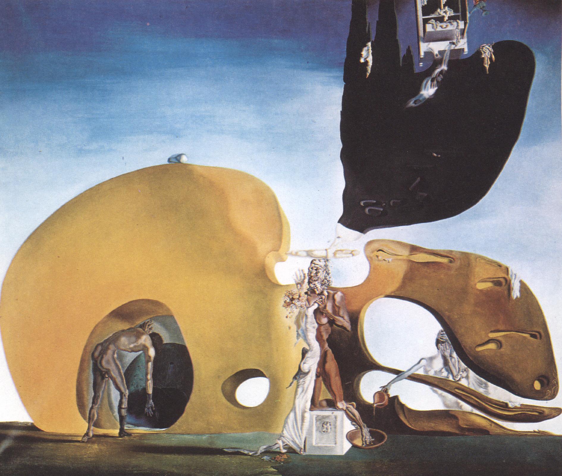The Birth Of Liquid Desires Salvador Dali