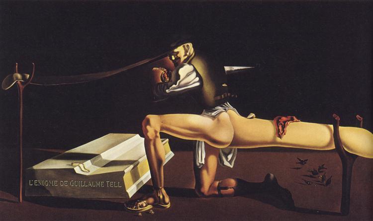 The Enigma of William Tell, 1933 - Salvador Dali