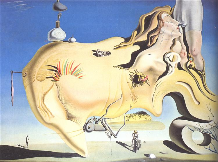 The Great Masturbator, 1929 - Salvador Dali
