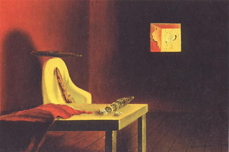 The Invisible Man, 1932 - Salvador Dali