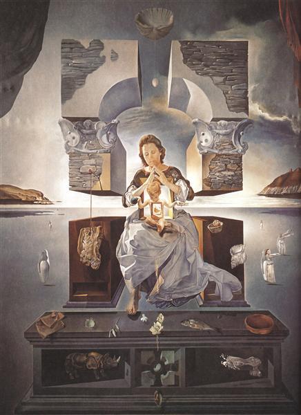 The Madonna of Port Lligat, 1950 - Salvador Dali
